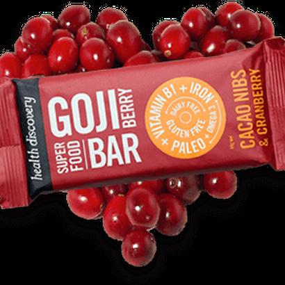 Goji Berry - Cacao Nibs & Cranberry  (10個入りパック)