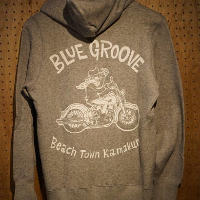 `UNCLE DAVE ` BLUE GROOVE ZIP UPパーカー  /グレー
