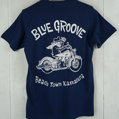 BG `UNCLE DAVE` Teeシャツ /ネイビー