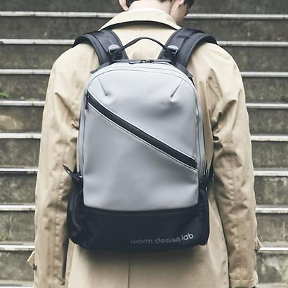 【HUNT】Slanting Backpack/GRAY(VBOM-4636)