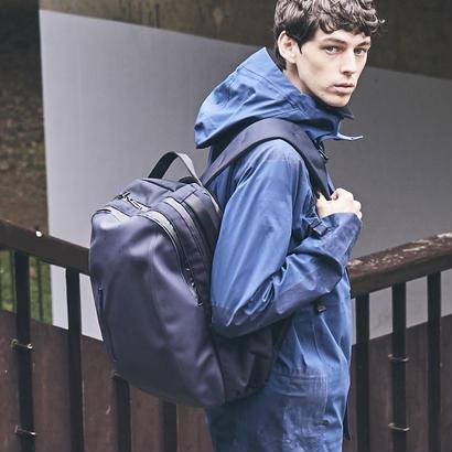 【HUNT】Crimping Backpack/NAVY(VBOM-4635)