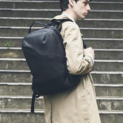 【HUNT】Slanting Backpack/BLACK(VBOM-4636)
