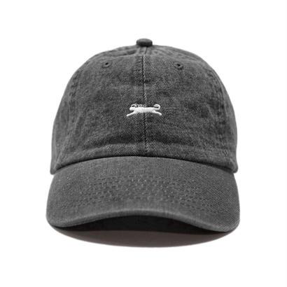 WWWCAT DENIM LOGO CAP (BLACK)
