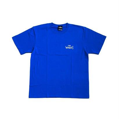 WINKIES TEE (BLUE , WHITE)