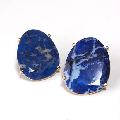 1点もの■Lapis lazuli Pペア売り