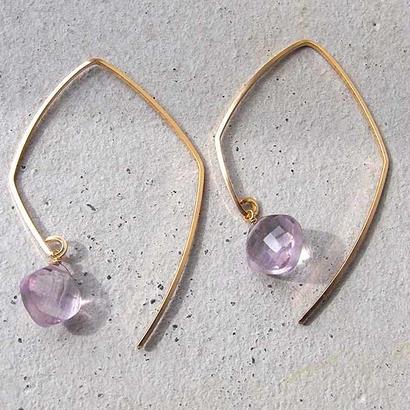 Wire P-Pink Amethyst