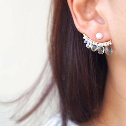 片耳売■Leaf bijoux P GAM