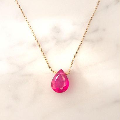 18金■RUBY Necklace