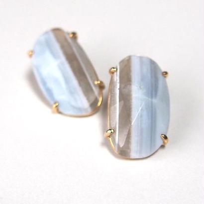 1点もの■Blue opal Pペア売り