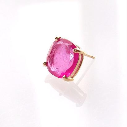 Ruby□single earring