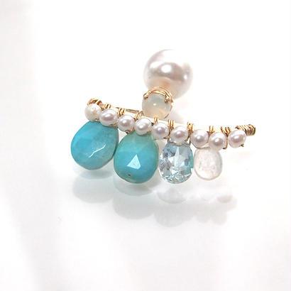 turquoise bijuox p Msize-single