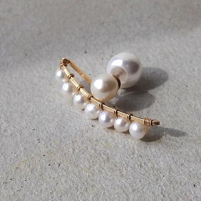 BEACH pearl L 片耳売り