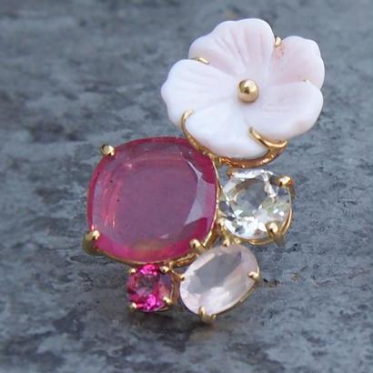 [XSORI luxe ] Garden.Pink