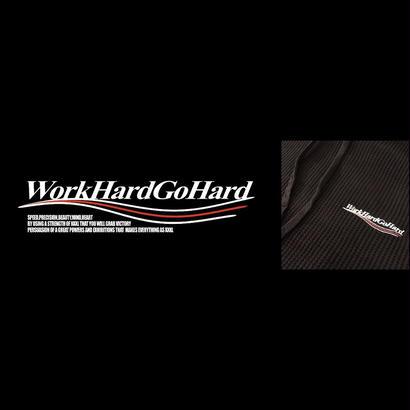 【USB対象商品】''Work Hard Go Hard''サーマルフーディーウエイトダウン