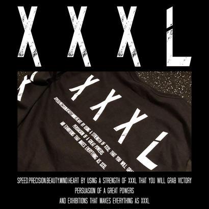 ''XXXL''UネックロングTシャツ