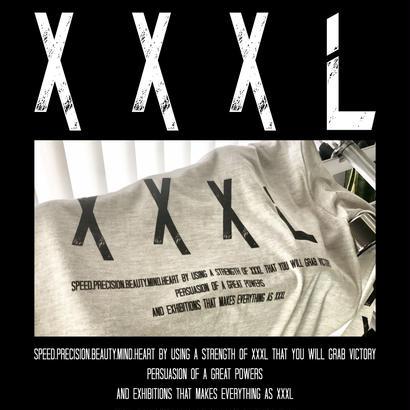 ''XXXL''ロングTシャツ