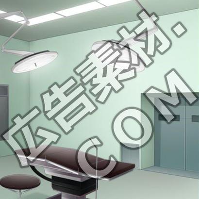 スマホ広告向け背景画像:病院の手術室