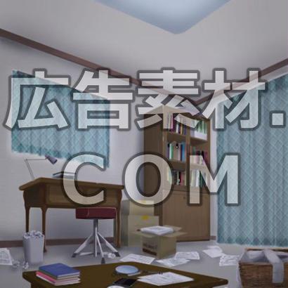 スマホ広告向け背景画像:荒んだ室内