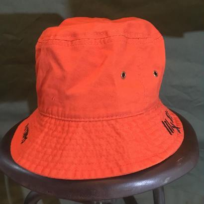 バケットハットオレンジ#1