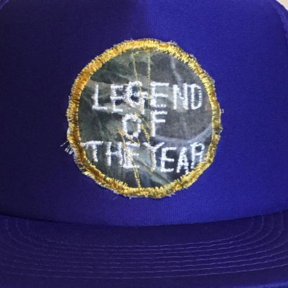 LEGEND OF THE YEAR メッシュキャップパープル