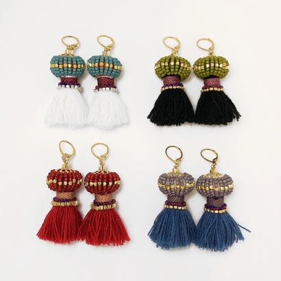Masco◆Mandrake pierce/earring (4 color)