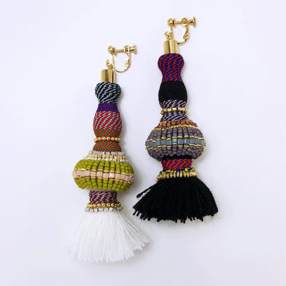Masco◆Labyrinth earring (2 color)