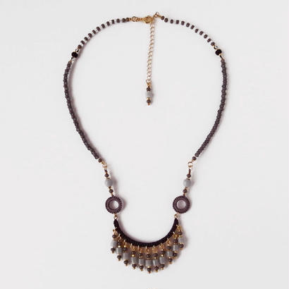 Ramza(single) necklace monotone