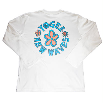 FLOWER TEE LONG(WHITE)