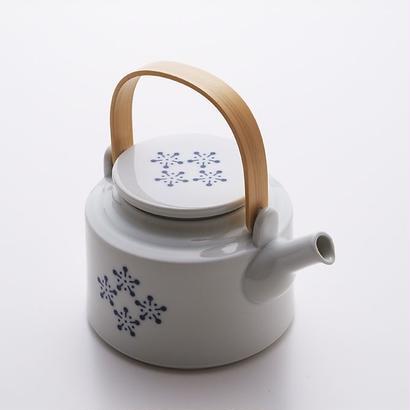 YOnoBI 磁器ティーポット h-komon teapot blue