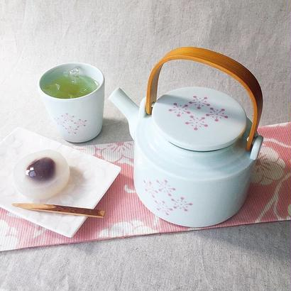 YOnoBI 磁器ティーポット【H-KOMON】ピンク