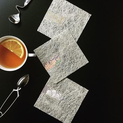 Design nayobika 銀糸コースター【OBI】