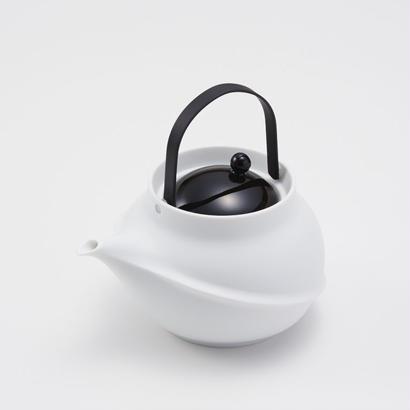 YOnoBI 磁器ティーポット TANE black