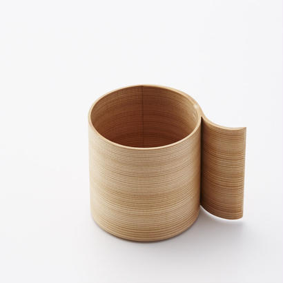 YOnoBI 曲げわっぱマグカップ αⅡ mug