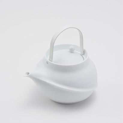 YOnoBI 磁器ティーポット TANE white