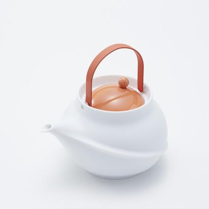 YOnoBI 磁器ティーポット TANE orange