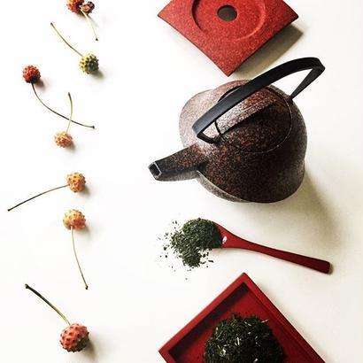 YOnoBI 鋳物ティーポット【KABUTO Ⅱ】樺