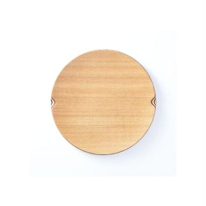 ■Gold Craft 木製プレート【SHIMA-SHIMA】S / circle