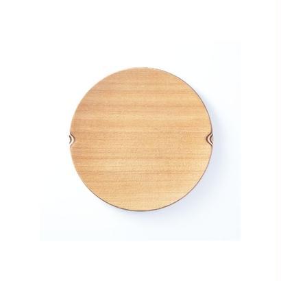 ■Gold Craft 木製プレート【SHIMA-SHIMA】S / 丸