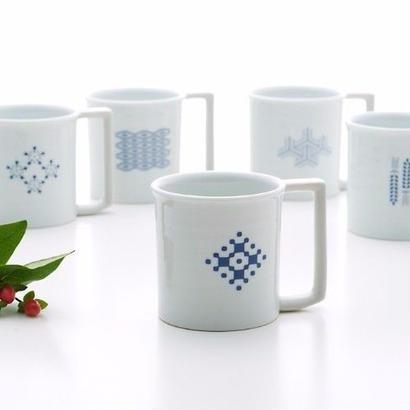 YOnoBI 磁器マグカップ【H-KOMON】ブルー