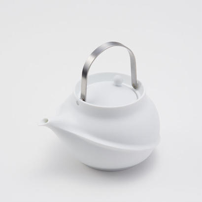 YOnoBI 磁器ティーポット TANE silver