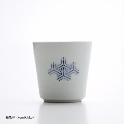 YOnoBI 磁器カップ【H-KOMON】ブルー