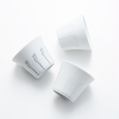 YOnoBI 磁器カップ g-cup