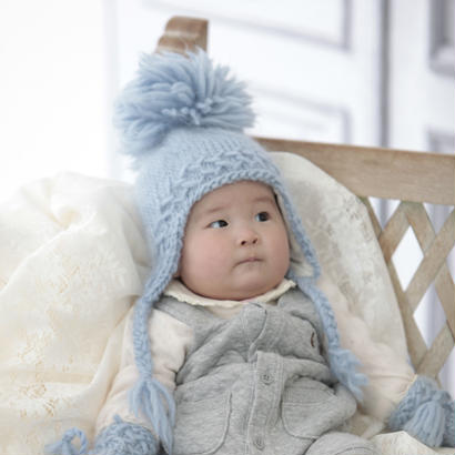 Hat Ivar ( Baby とKidsサイズ)