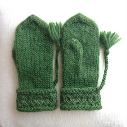 Mitten Erika (Green)
