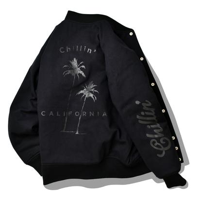 【数量限定】Chillin'  california  Blouson【Black】
