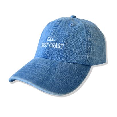CAL.WEST COAST  Denim Cap【Light Denim】