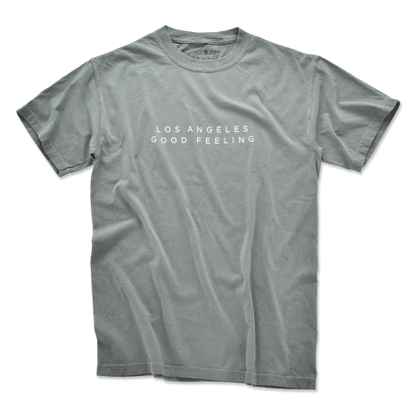 L.A GOOD FEELING Pigment-Dyed  Tee【Gray】