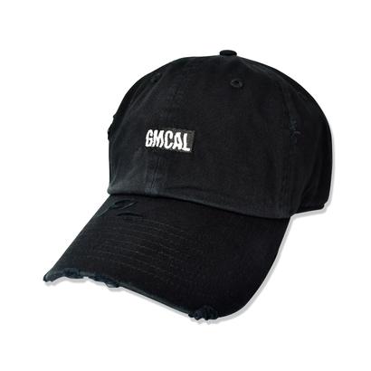 GMCAL Box Logo Damage Cap【Black】