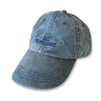 CAL.WEST COAST  Pigment Dyed CAP【Navy】