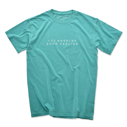 L.A GOOD FEELING Pigment-Dyed  Tee【Seafoam】